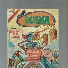 Tebeos: BATMAN 3-16 (AVESTRUZ): CAMPEONES DE LA JUSTICIA, 1982, NOVARO. Lote 121568035