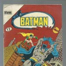 Tebeos: BATMAN 12, 1985, EDITORA CINCO, MUY BUEN ESTADO. Lote 121568347