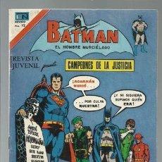 Tebeos: BATMAN 2-846: CAMPEONES DE LA JUSTICIA, 1976, NOVARO, MUY BUEN ESTADO. Lote 121570059