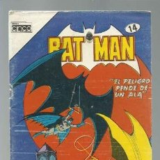 Tebeos: BATMAN 14, 1985, CINCO, BUEN ESTADO. Lote 121571279
