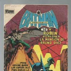 Tebeos: BATMAN 36, 1985, CINCO, BUEN ESTADO. Lote 121572947