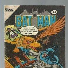 Tebeos: BATMAN 41, 1985, CINCO, BUEN ESTADO. Lote 121572999