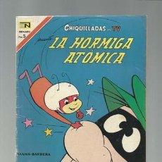 Tebeos: CHIQUILLADAS EN TV 216: LA HORMIGA ATÓMICA, 1967, NOVARO, MUY BUEN ESTADO. Lote 121576179