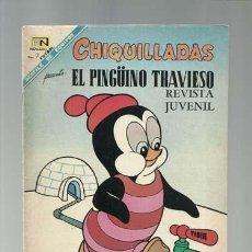 Tebeos: CHIQUILLADAS 242: EL PINGÜINO TRAVIESO, 1968, NOVARO, MUY BUEN ESTADO. Lote 121577743