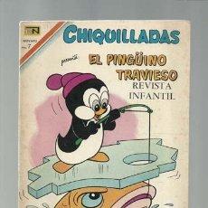 Tebeos: CHIQUILLADAS 273: EL PINGÜINO TRAVIESO, 1970, NOVARO, BUEN ESTADO. Lote 121577847
