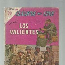 Tebeos: CLÁSICOS DEL CINE 108: LOS VALIENTES, 1964, NOVARO, SEÑALES DE USO. Lote 121578251