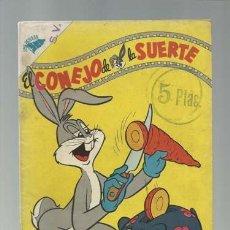 Tebeos: EL CONEJO DE LA SUERTE 62, 1955, NOVARO, BUEN ESTADO. Lote 121578427