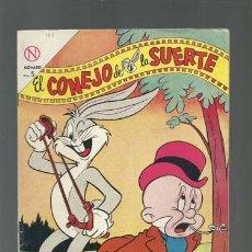 Tebeos: EL CONEJO DE LA SUERTE 188, 1964, NOVARO, MUY BUEN ESTADO. Lote 121715295