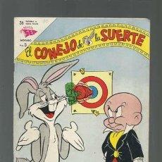 Tebeos: EL CONEJO DE LA SUERTE 180, 1963, NOVARO, MUY BUEN ESTADO. Lote 121715499