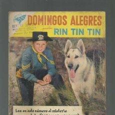 Tebeos: DOMINGOS ALEGRES 248: RIN TIN TIN, 1958, NOVARO.. Lote 121719575