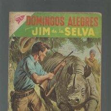 Tebeos: DOMINGOS ALEGRES 243: JIM DE LA SELVA, 1958, NOVARO, USADO. Lote 121719831