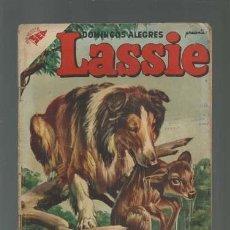 Tebeos: DOMINGOS ALEGRES 176: LASSIE, 1957, NOVARO.. Lote 121720291