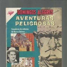 Tebeos: DOMINGOS ALEGRES 347: AVENTURAS PELIGROSAS, 1960, NOVARO, MUY BUEN ESTADO. Lote 121721891