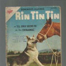 Tebeos: DOMINGOS ALEGRES 173: RIN TIN TIN, 1957, NOVARO, USADO. Lote 121722099
