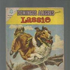 Tebeos: DOMINGOS ALEGRES 547: LASSIE, 1964, NOVARO.. Lote 121911975