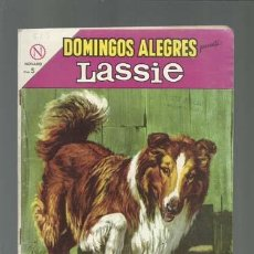 Tebeos: DOMINGOS ALEGRES 523: LASSIE, 1964, NOVARO, MUY BUEN ESTADO. Lote 121912235