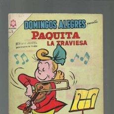 Tebeos: DOMINGOS ALEGRES 560: PAQUITA LA TRAVIESA, 1964, NOVARO, BUEN ESTADO. Lote 121912631