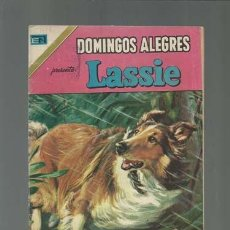Tebeos: DOMINGOS ALEGRES 1026: LASSIE, 1974, NOVARO, BUEN ESTADO. Lote 121913251