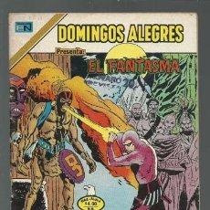Tebeos: DOMINGOS ALEGRES 2-1211: EL FANTASMA, 1977, NOVARO SERIE AGUILA, BUEN ESTADO. Lote 121914119