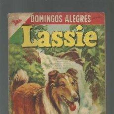 Tebeos: DOMINGOS ALEGRES 192: LASSIE, 1957, NOVARO, USADO. Lote 121914791