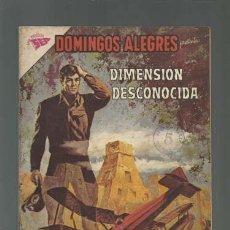 Tebeos: DOMINGOS ALEGRES 476: DIMENSIÓN DESCONOCIDA, 1963, NOVARO, BUEN ESTADO. Lote 121915271