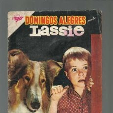 Tebeos: DOMINGOS ALEGRES 375: LASSIE, 1961, NOVARO USADO. Lote 121916003