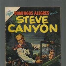 Tebeos: DOMINGOS ALEGRES 77: STEVE CANYON, 1955, NOVARO, MUY BUEN ESTADO. Lote 121916575