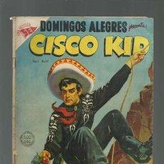 Tebeos: DOMINGOS ALEGRES 32: CISCO KID, 1954, NOVARO. Lote 121916911