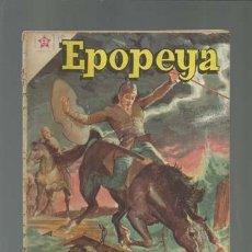 Tebeos: EPOPEYA 10: LA RETIRADA DE LOS DIEZ MIL, 1959, NOVARO, PROCEDENTE DE ENCUADERNANCIÓN. Lote 121918191