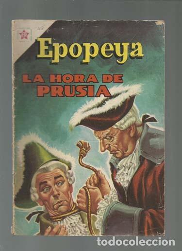 EPOPEYA 48: LA HORA DE PRUSIA, 1962, NOVARO (Tebeos y Comics - Novaro - Epopeya)