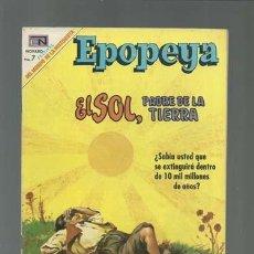 BDs: EPOPEYA 134: EL SOL, PADRE DE LA TIERRA, 1969, NOVARO, MUY BUEN ESTADO. Lote 121939751