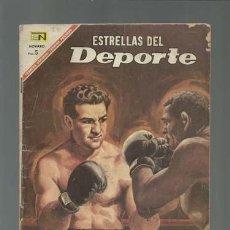 Tebeos: ESTRELLAS DEL DEPORTE 24: ROCKY MARCIANO, 1967, NOVARO, USADO. Lote 121940115