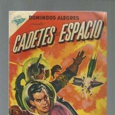 Tebeos: DOMINGOS ALEGRES 54: CADETES DEL ESPACIO, 1955, NOVARO, MUY BUEN ESTADO. Lote 121971579