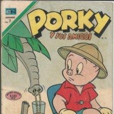 BDs: PORKY Y SUS AMIGOS - Nº 264 - NOVARO 1971. Lote 122025775