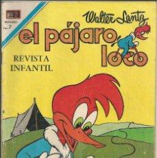 Tebeos: EL PAJARO LOCO - Nº 333 - NOVARO 1970. Lote 122026635