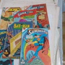 Tebeos: BATMAN-SUPERMAN-ETC-NOVARO-. Lote 122044195