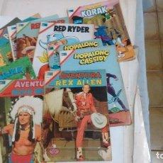 Tebeos: AVENTURA-RED RYDER-HOPALONG CASSIDY-ETC-NOVARO-. Lote 122044683
