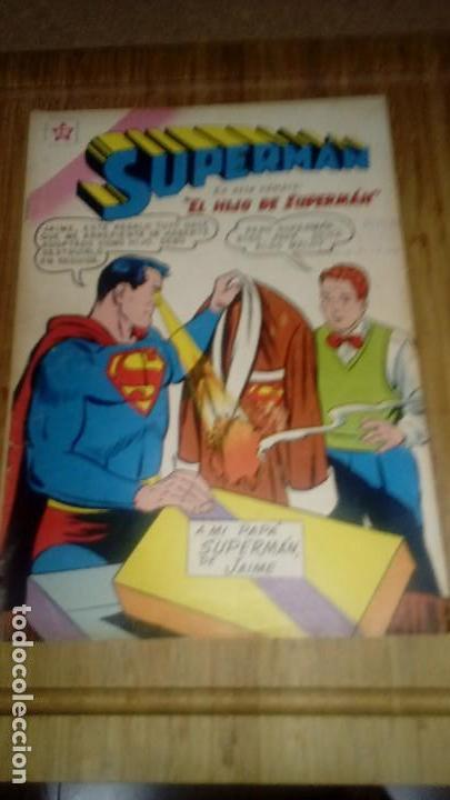 SUPERMAN NOVARO Nº 204 (Tebeos y Comics - Novaro - Superman)
