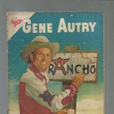 Tebeos: GENE AUTRY 50, 1958, NOVARO, . Lote 122343983