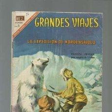 Tebeos: GRANDES VIAJES 56: LA EXPEDICIÓN DE NORDENSKIOLO, 1967, NOVARO, BUEN ESTADO. Lote 122352363