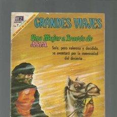 Tebeos: GRANDES VIAJES 78: UNA MUJER A TRAVÉS DE ASIA, 1969, NOVARO, USADO. Lote 122354551