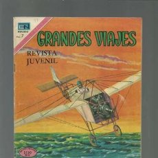 Tebeos: GRANDES VIAJES 97: BLÉRIOT SOBRE EL CANAL DE LA MANCHA, 1971, NOVARO, MUY BUEN ESTADO. Lote 122360695