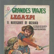 Tebeos: GRANDES VIAJES 37: EL NAVEGANTE DE OCEANÍA, 1966, NOVARO, BUEN ESTADO. Lote 122365171
