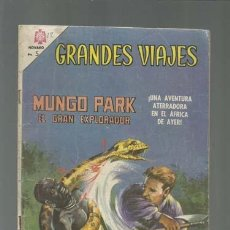 Tebeos: GRANDES VIAJES 42: MUNGO PARK, EL GRAN EXPLORADOR, 1966, NOVARO, BUEN ESTADO. Lote 122460803