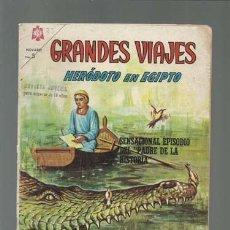 Tebeos: GRANDES VIAJES 33: HERÓDOTO EN EGIPTO, 1965, NOVARO, BUEN ESTADO. Lote 122461343