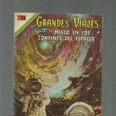 Tebeos: GRANDES VIAJES 144: MIEDO EN LOS CONFINES DEL ESPACIO, 1973, NOVARO, BUEN ESTADO. Lote 122461891