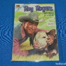 Livros de Banda Desenhada: (M8) ROY ROGERS NUM 187 , EDT NOVARO , SEÑALES DE USO. Lote 122534975