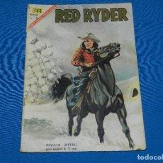 Tebeos: (M) RED RYDER NUM 156 , EDT NOVARO, CON ROTURITAS. Lote 122537247