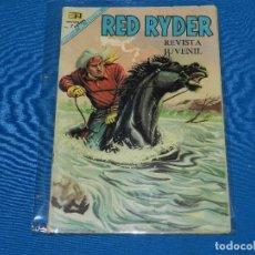 Tebeos: (M) RED RYDER NUM 179 , EDT NOVARO, CON ROTURITAS. Lote 122537423