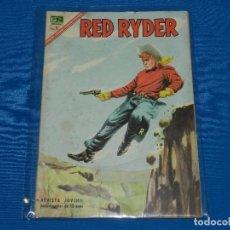 Tebeos: (M) RED RYDER NUM 160 , EDT NOVARO, SEÑALES DE USO. Lote 122537515